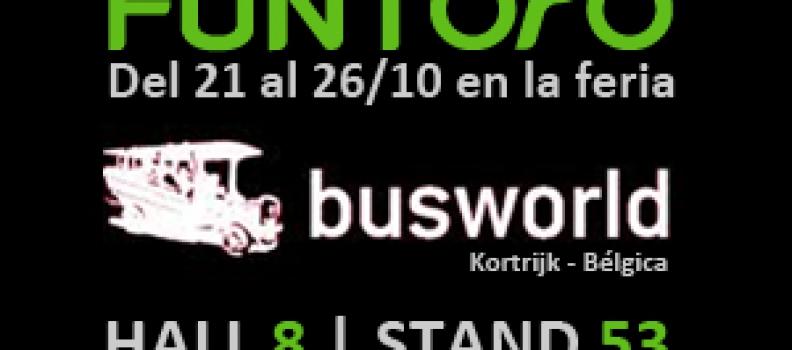 BusWorld 2011: Descubra la plataforma multimedia FUNTORO MOD en el stand (H8.53)