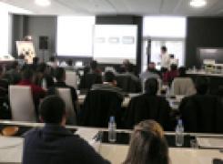 Éxito de participación en el evento de formación