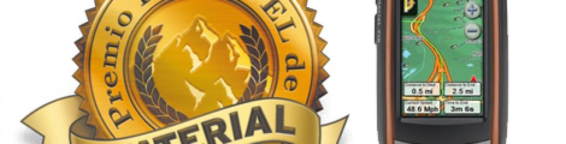 El explorist 710 recibe el premio Desnivel al mejor producto en la categoría Electrónica.